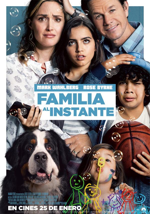 Cartel FAMILIA AL INSTANTE