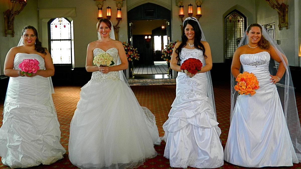 Cuatro novias tendrán que pelearse si quieren que su boda salga bien