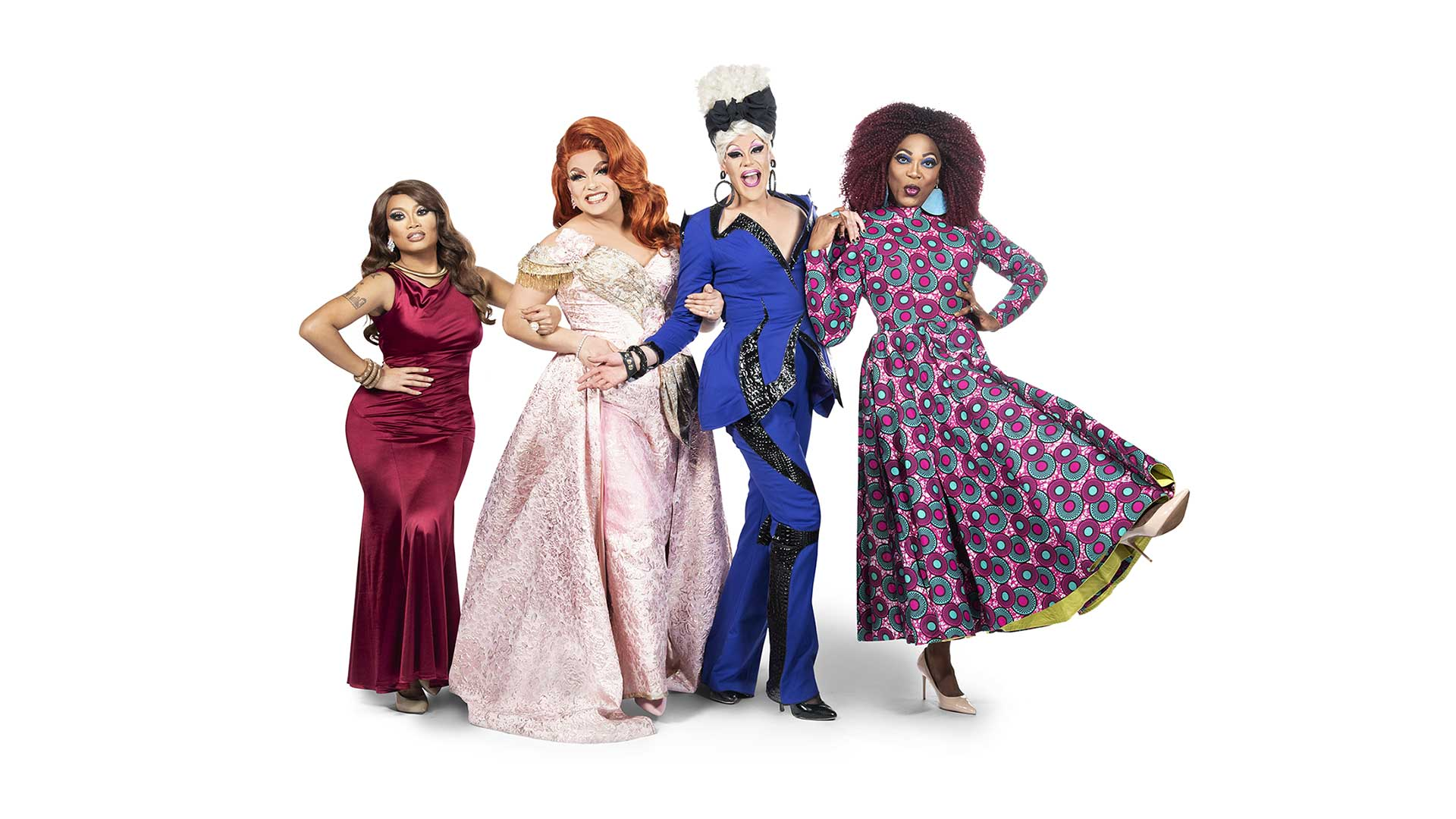 Alexis Michelle, BeBe Zahara Benet, Jujubee y Thorgy Thor llenarán de brillo y glamour las noches de los lunes en DKISS