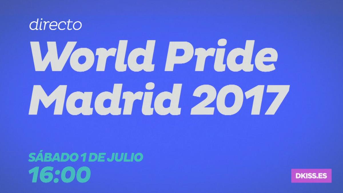 DKISS emite en directo el desfile del World Pride Madrid 2017
