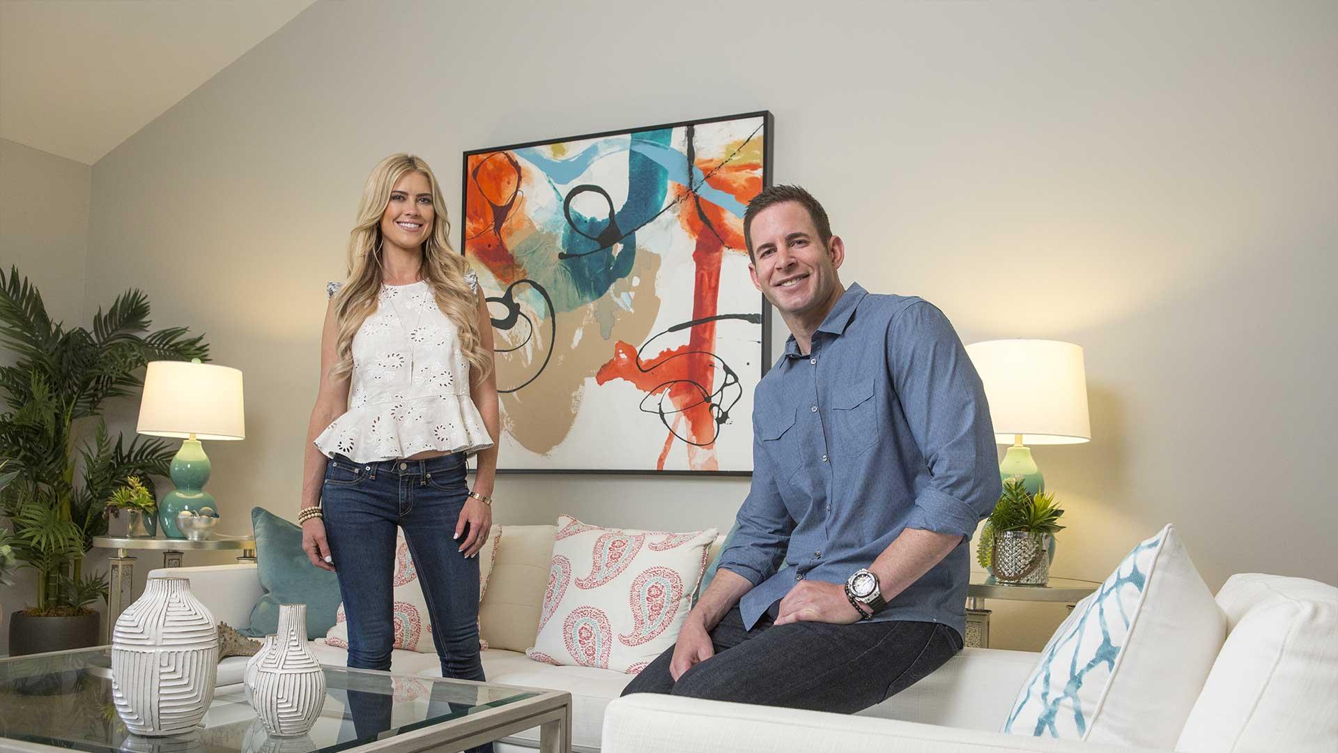 Tarek y Christina El Moussa