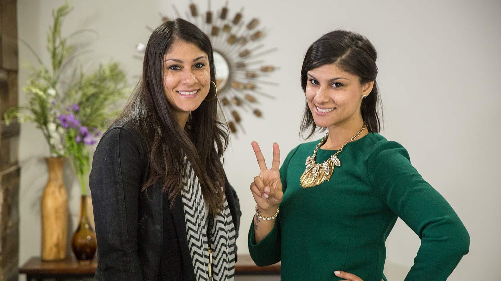 Esta pareja de hermanas muy especiales que harán realidad los sueños de las muchas familias y propietarios