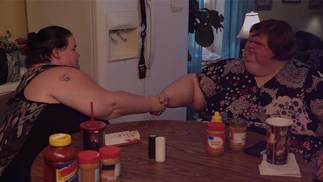 Las hermanas de 300 kilos