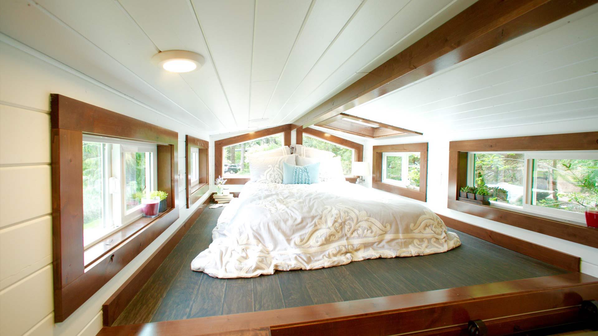 Los detalles y los diseños más caros y personalizados también pueden tener su hueco en hogares diminutos