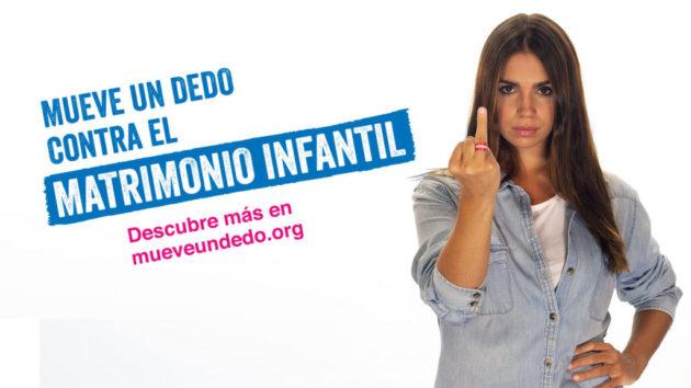 DKISS #MueveUnDedo contra el matrimonio infantil