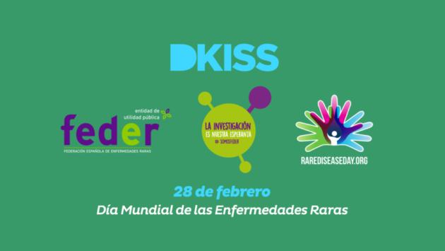 DKISS ha decidido aunar fuerzas con FEDER en la celebración del 'Día mundial de las enfermedades raras'