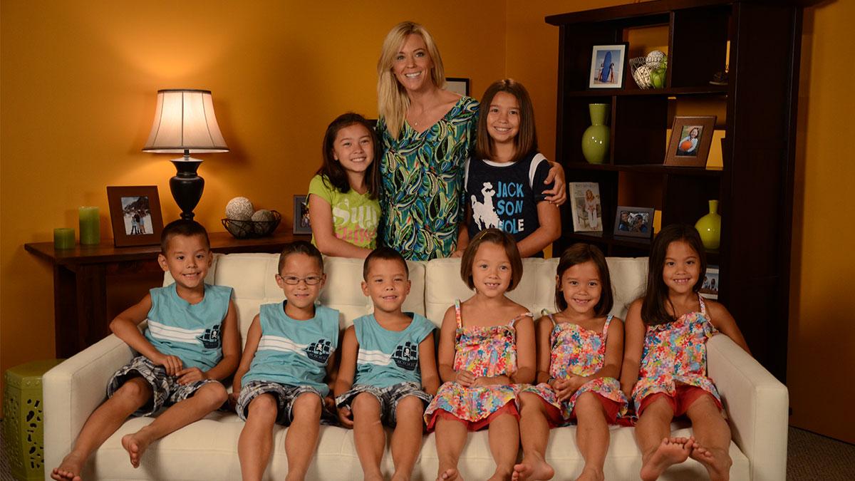 ¿Cómo se vive con 8 hijos a tu cargo?