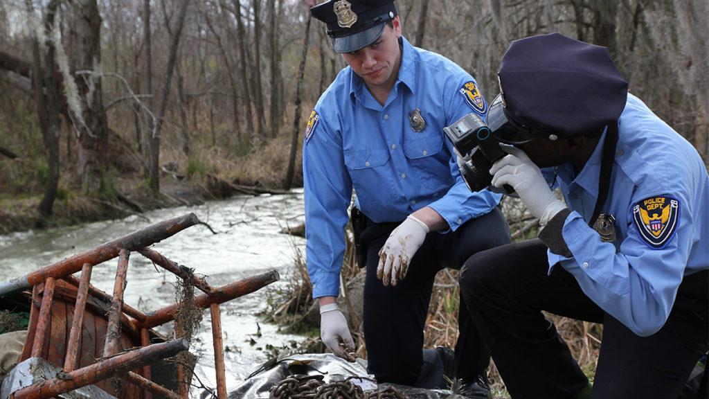 Un pantano puede ser el mejor lugar para esconder un cadáver, o no...